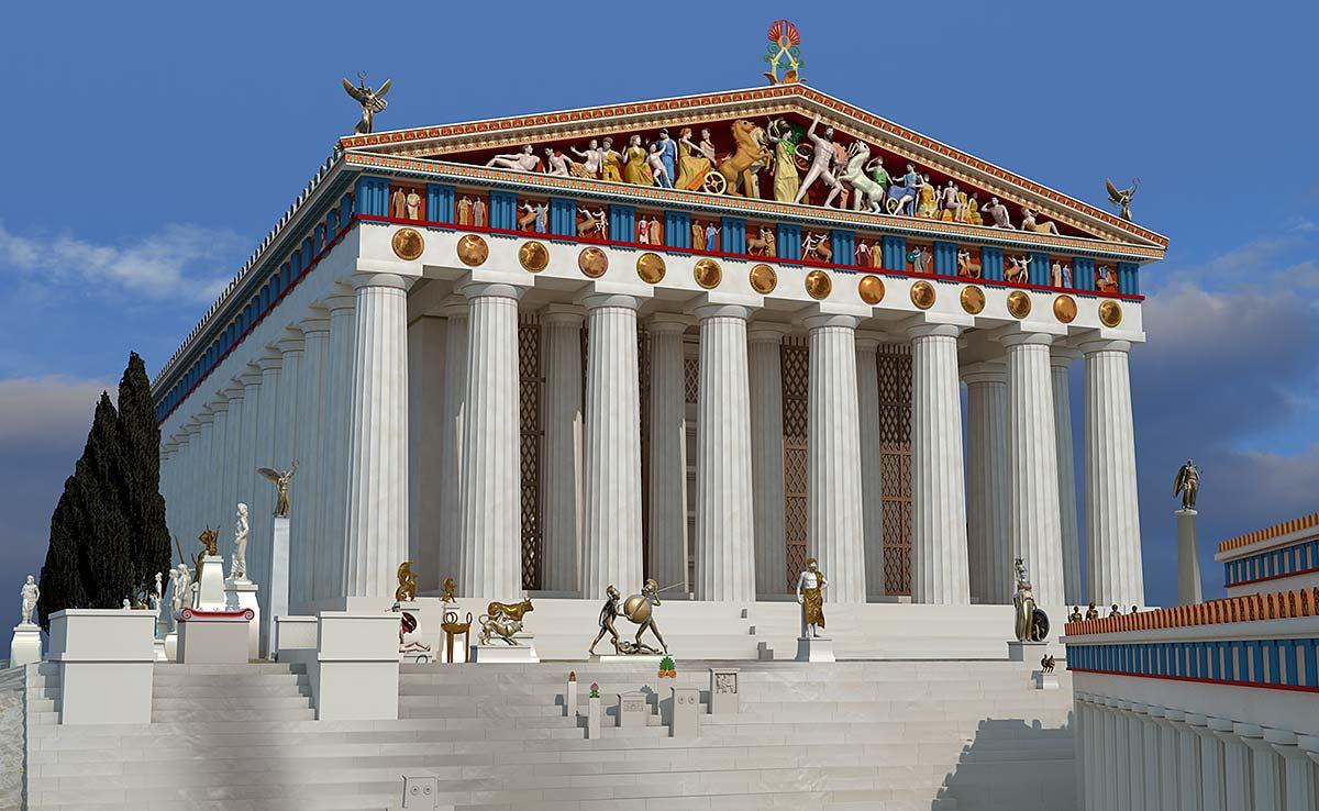 Athen In Der Liebieghaus Skulpturensammlung